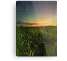 Plains Sunset Metal Print
