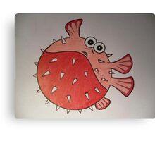 Ball fish Canvas Print