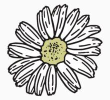 daisies drawing Kids Tee