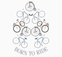 BORN TO RIDE (bike) Kids Clothes