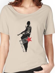 revolution till victory... Women's Relaxed Fit T-Shirt
