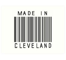 Made in Cleveland Art Print