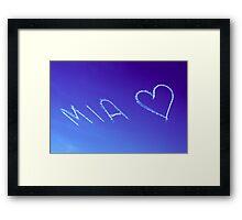 Mia x Framed Print