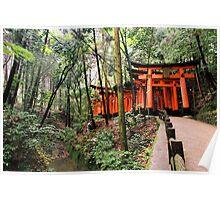Fushimi Inari, Japan 2008 Poster
