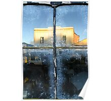 """""""Window Reflections ~ Clunes Shopfront"""" Poster"""