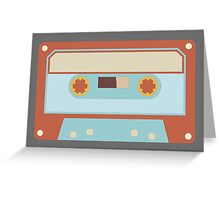 Retro Music Cassette Greeting Card