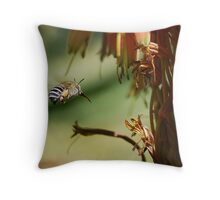 To Bee or not to Bee Throw Pillow