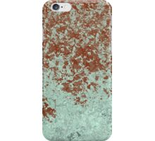 Green and Wine Abstract Design iPhone Case/Skin