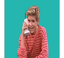 Zack Morris Saved By the Bell 90's Design Photographic Print