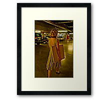 Painting thief 1 Framed Print