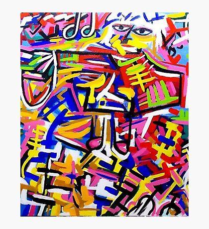 Colour art Photographic Print