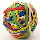 Rubber band ball by bobubble