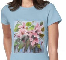 Blossom Time Womens Fitted T-Shirt