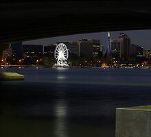 Perth Wheel Through Narrows by Shadow1100