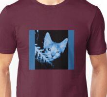 Blue Cat Blue Unisex T-Shirt