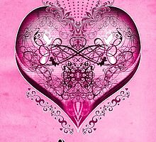 LOVE - Pink (Happy Mother's Day) Card by ifourdezign