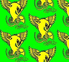 Wings of Glasto... new T (z) for 2015  by CARIDIGM