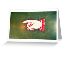 Whither goest thou? Greeting Card