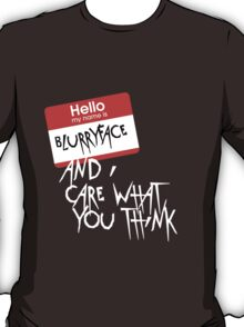 Hello my name is... (version 2) T-Shirt