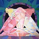 Prismatic Ethereal Lovers by Joseph Barbara