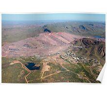 Argyle Diamond Mine - April, 2009 Poster