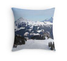 Austrian Alps. Throw Pillow