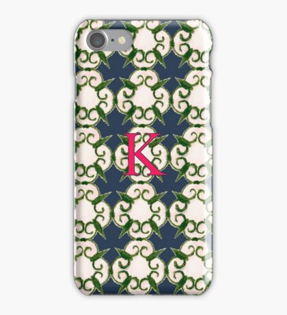 The Venetian Print - K iPhone Case/Skin