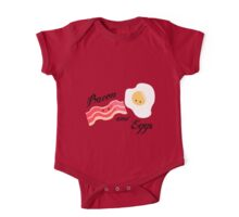 Bacon and Eggs One Piece - Short Sleeve
