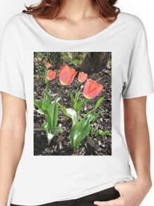 5 Tulips Women's Relaxed Fit T-Shirt