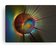 Out of the Corner of My Eye Metal Print