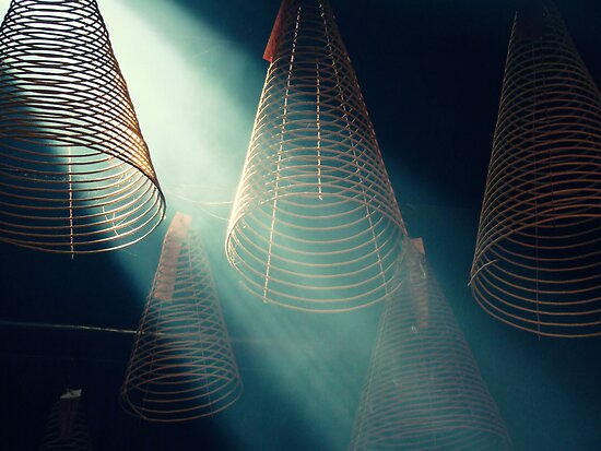 Incense Coils by Caroline Fournier