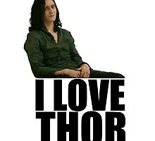 I LOVE THOR by silverbrush