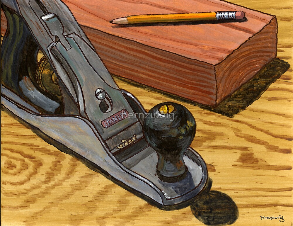 Classic Stanley Bench Planer by bernzweig