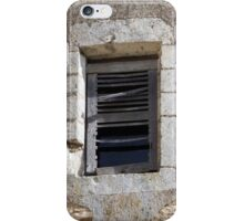 Louvre Slats Gone iPhone Case/Skin