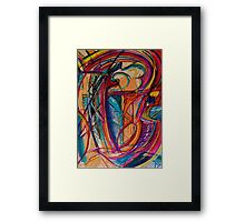 Mirrors Framed Print