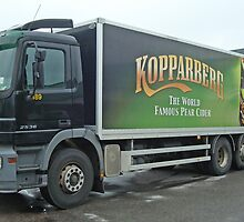 Kopparberg Pear Cider lorry by Paola Svensson