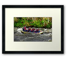 Adrenalin Rush Framed Print