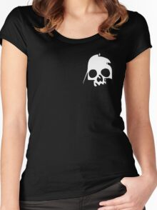 VADER SKULL  Women's Fitted Scoop T-Shirt
