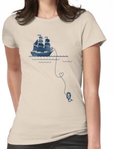 Long Distance Love Womens Fitted T-Shirt