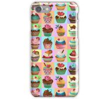 Cupcake Pattern iPhone Case/Skin