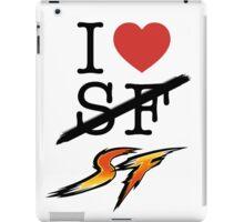 I <3 SF (Street Fighter) iPad Case/Skin