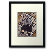 Getting Old is Inevitable Growing up is Optional Framed Print