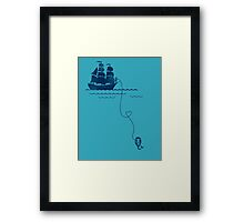 Long Distance Love Framed Print
