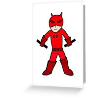 Daredevil Chibi Greeting Card