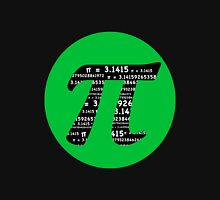 Pi Day graphic in green and black  Hoodie