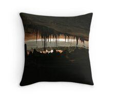 Cave Passage Throw Pillow