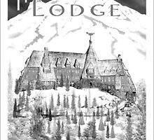 Timberline Lodge  by Randall Paul