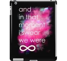 the perks of being a wallflower iPad Case/Skin