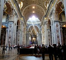 In Saint Peter´s Basilika by HELUA
