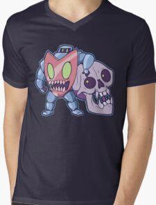 Guts n' Skull Mens V-Neck T-Shirt